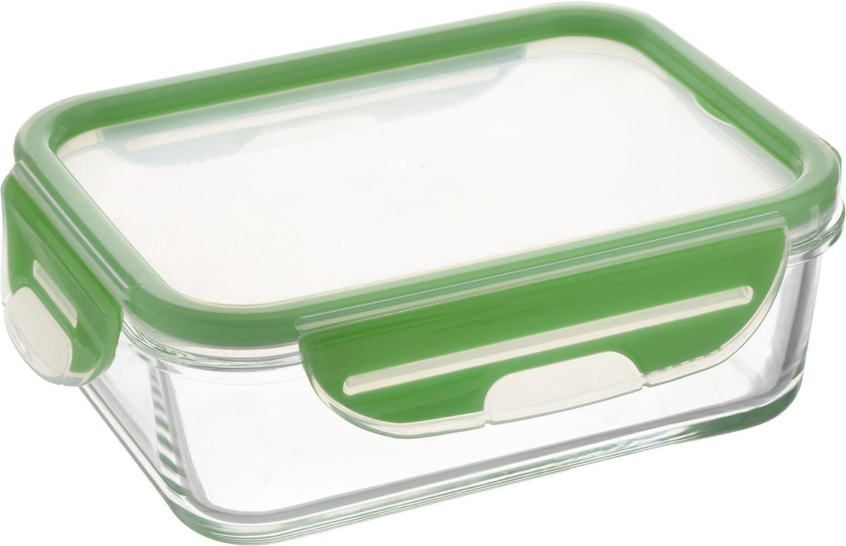 Контейнер для продуктов Herevin, цвет: зеленый, 900 мл контейнер вакуумный для пищевых продуктов herevin 600 мл 161173 033