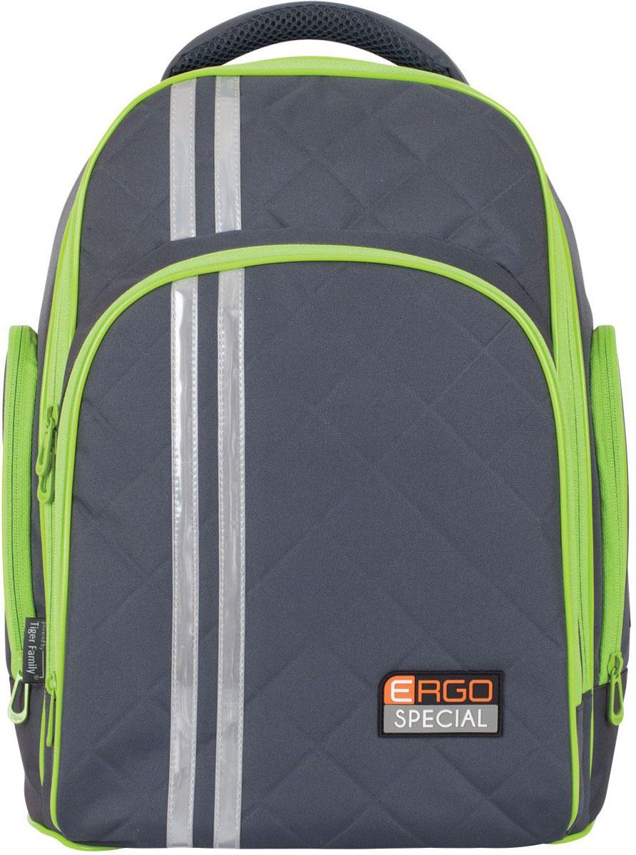 Tiger Enterprise Рюкзак Lime & Grey цена