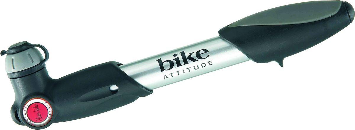 Насос велосипедный Bike Attitude GP23, ручной, цвет: черный