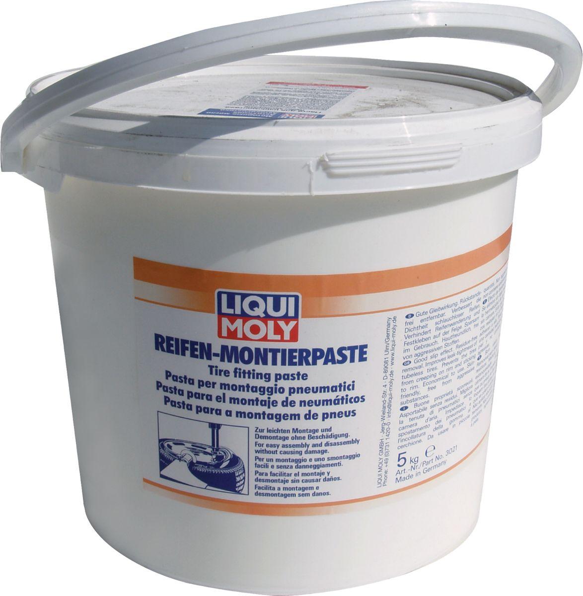 цена на Монтажная паста для колес Liqui Moly Reifen-Montierpaste, 5 кг