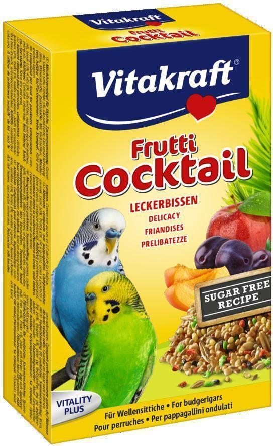 Коктейль для волнистых попугаев Vitakraft, фруктовый, 200 г добавки юнивърсъл