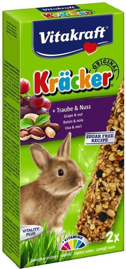 Крекеры для кроликов Vitakraft, ореховые, 2 шт демирчоглян г г компьютер и здоровье