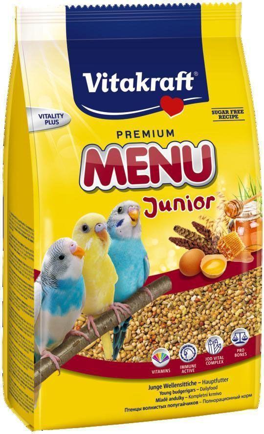 "Корм для птенцов волнистых попугаев Vitakraft ""Menu"", 500 г"