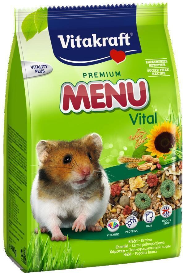 "Корм для хомяков Vitakraft ""Menu Vital"", 1 кг"