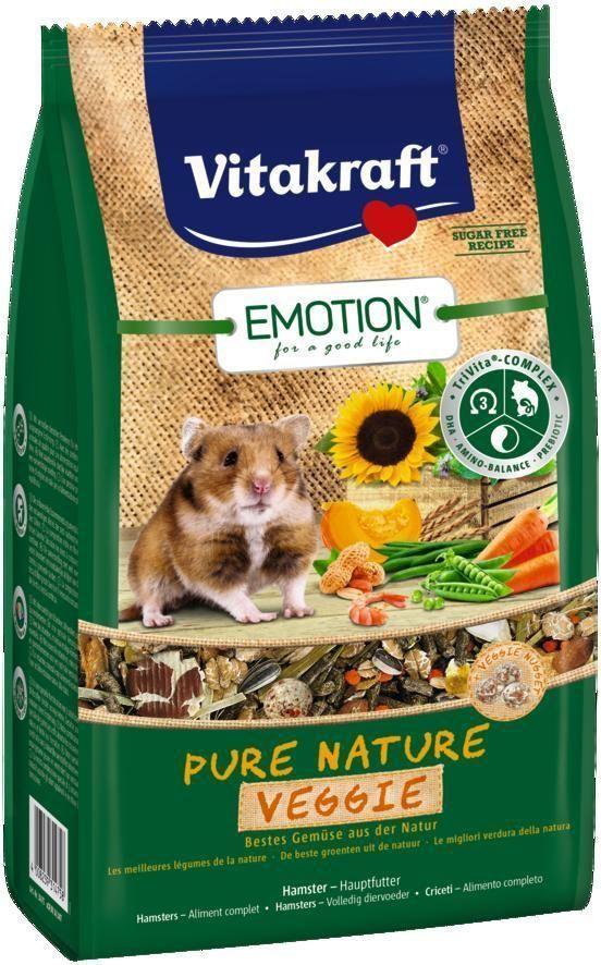 "Корм для хомяков Vitakraft ""Pure Nature Veggie"", 600 г"