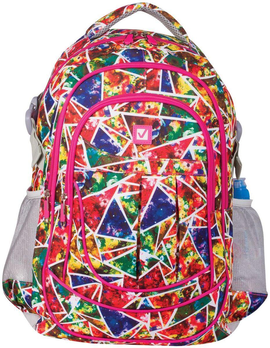 Brauberg Рюкзак Абстракция 226356 brauberg brauberg рюкзак для старшеклассников и студентов бронкс синий желтый