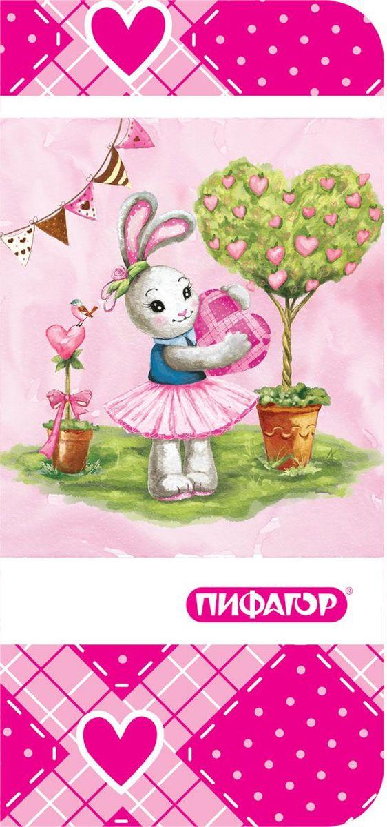 Пифагор Пенал-косметичка Зайка 226499 цена в Москве и Питере