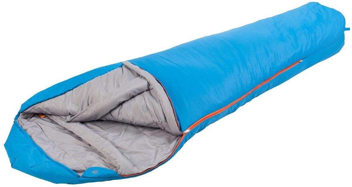 Спальный мешок TREK PLANET Dakar, цвет: синий, правостороняя молния