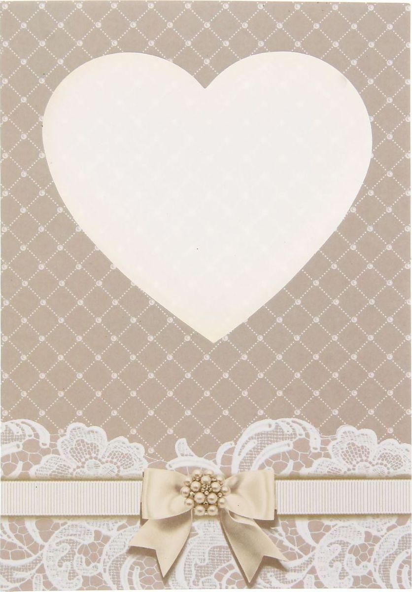 Свадебный узор на открытку