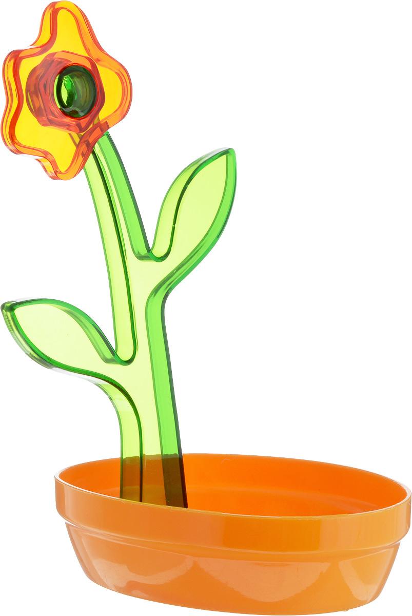 "Подставка под ложку ""Herevin"", цвет: оранжевый, зеленый"