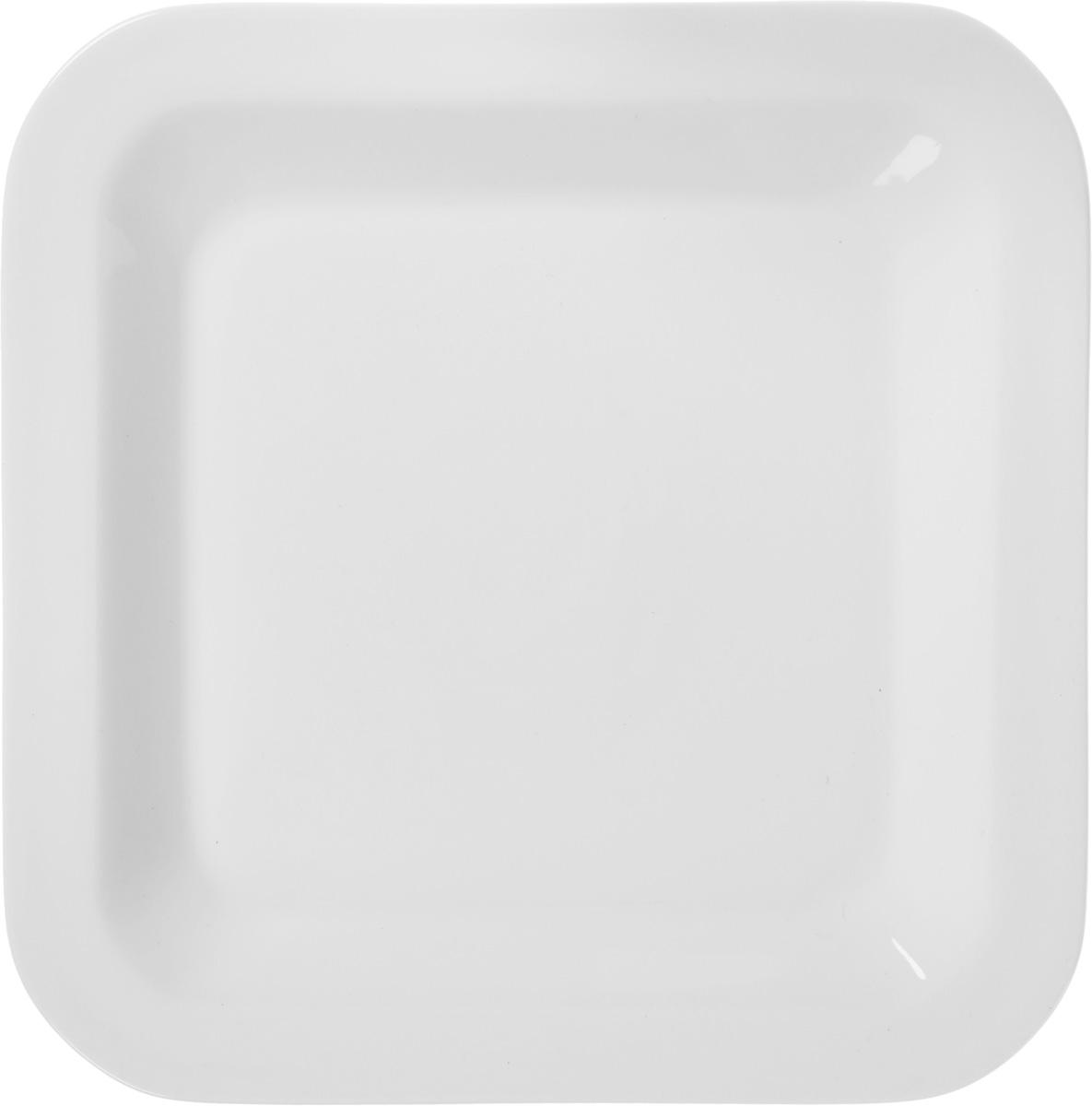 Тарелка десертная Tescoma Gustito, цвет: белый, 20 х 20см тарелка tescoma legend 385324