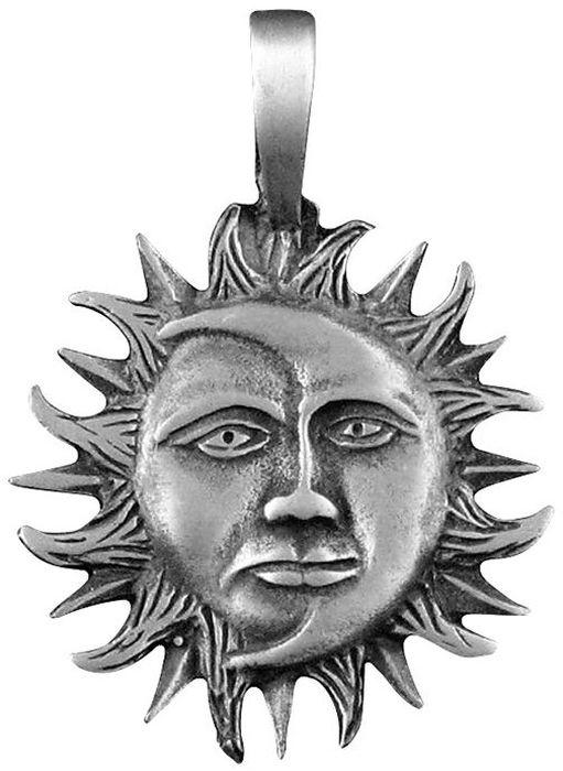 Амулет-тотем Гифтман №18 Солнце и Луна, материал: олово. Авторская работа. 71118 фрэнк бумфрей xml новые перспективы www