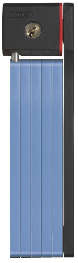 Велозамок Abus Bordo uGrip 5700/80, с ключами, цвет: синий велозамок abus bordo big 6000 120 с ключами цвет красный