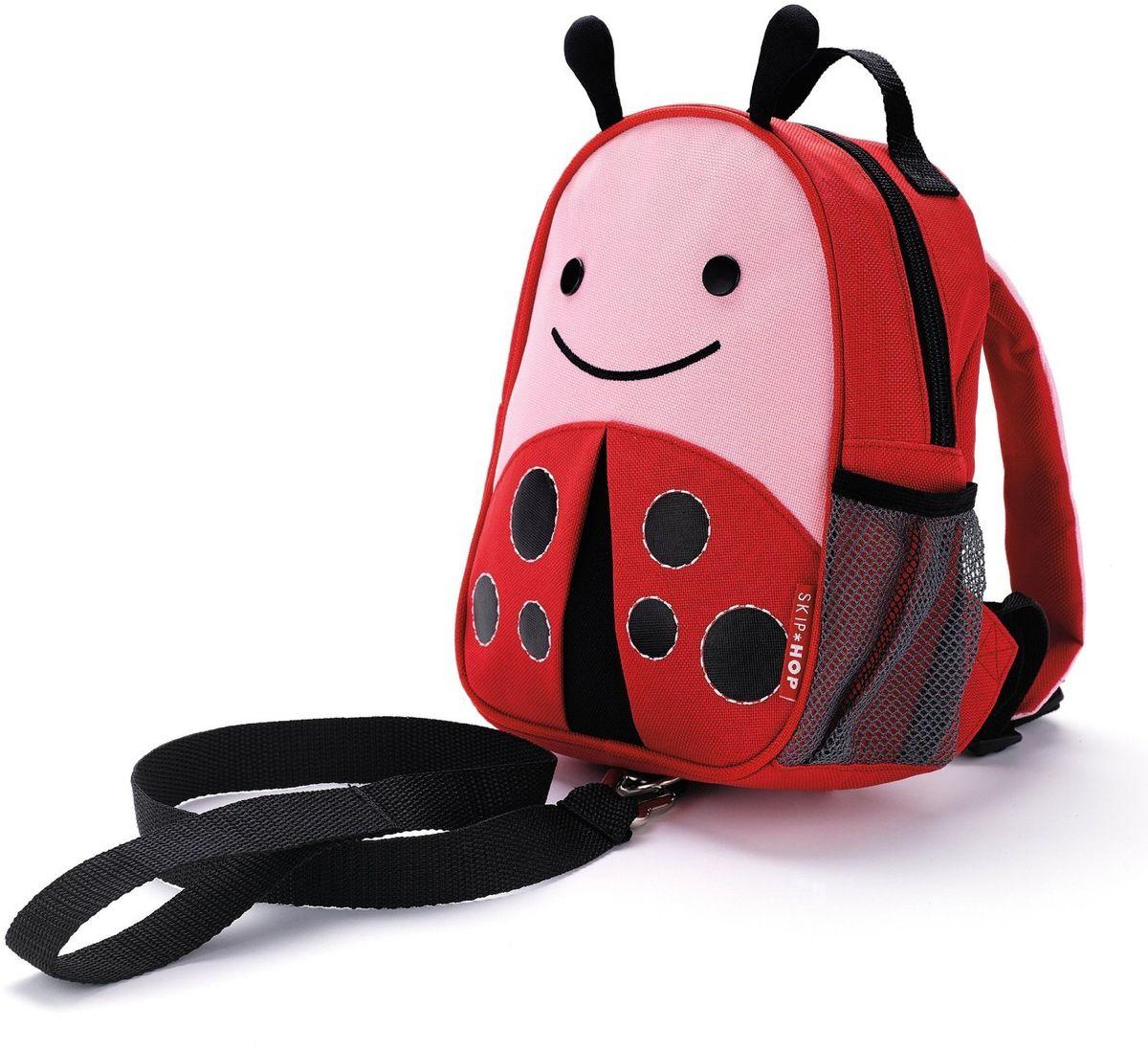 Skip Hop Рюкзак дошкольный Божья коровка с поводком сумочка для ланч бокса детская skip hop божья коровка