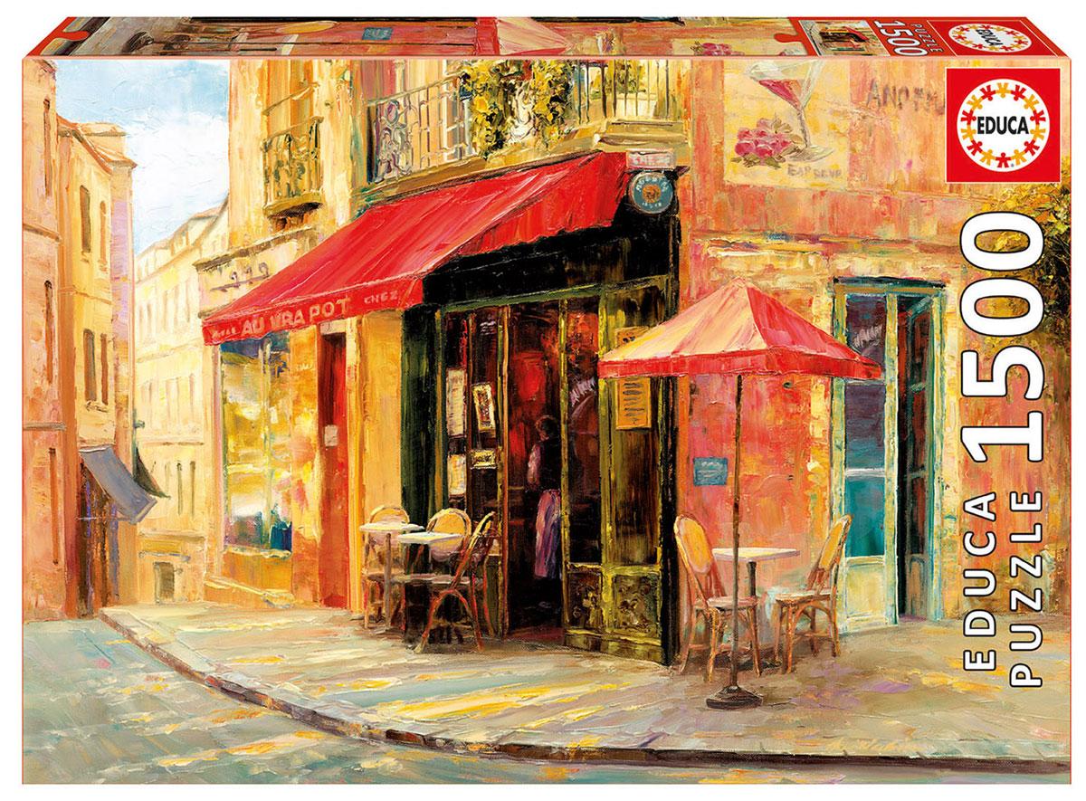 Educa Пазл Кафе Хиллсайд educa пазл уличное кафе