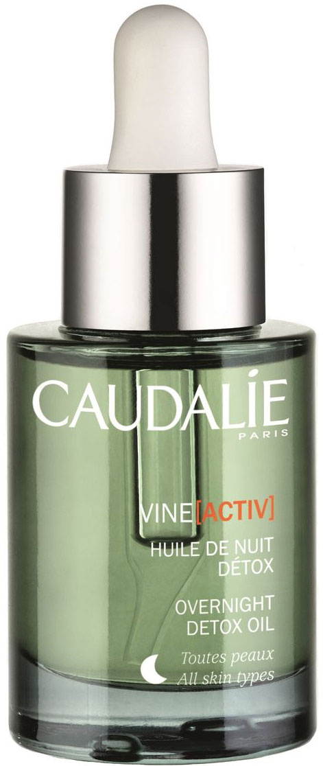 Caudalie Ночное Детокс-масло VineActiv, 30 мл caudalie vinosource overnight oil масло ночное восстанавливающее 30 мл