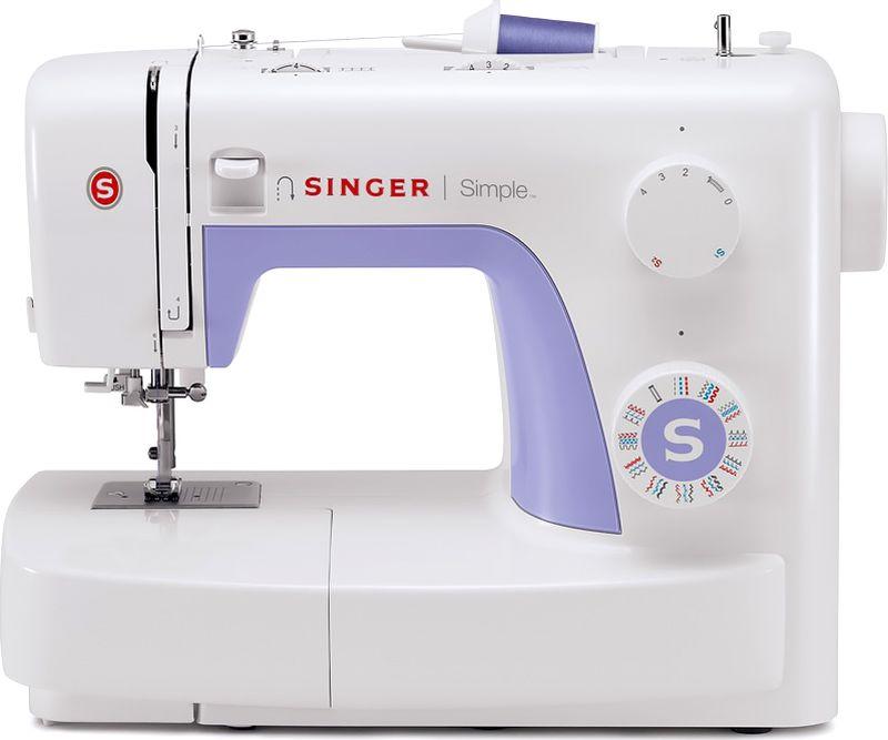 Singer Simple 3232, White Purple швейная машина [супермаркет] кинг вей jingdong творческий швейная коробка набор для шитья набор для шитья портативный пакет