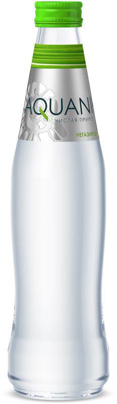 Акваника вода негазированная, 0,35 л