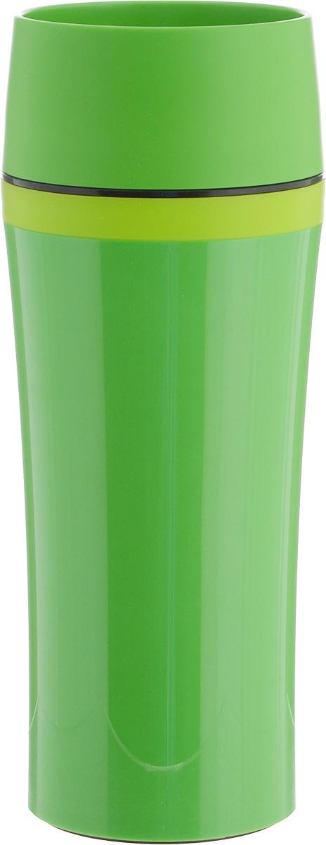 Термокружка Emsa Travel Mug Fun, цвет: зеленый, 360 мл цена