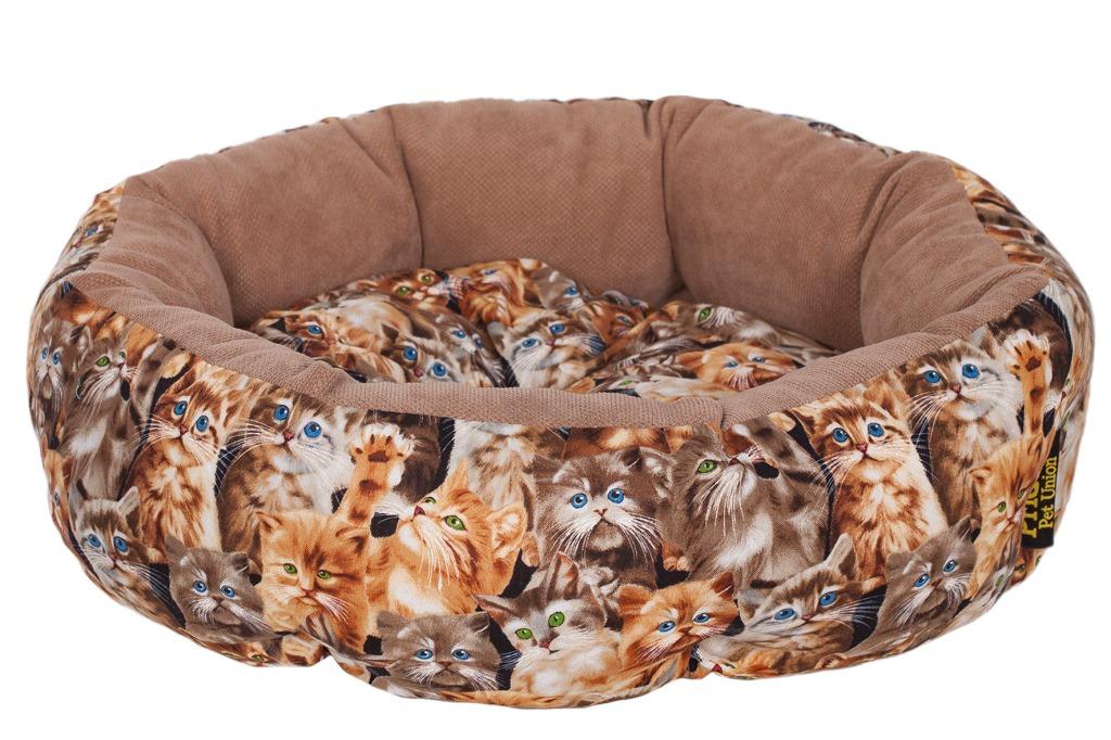 """Лежак для животных Pride """"Мартовские коты"""", 45 х 45 х 12 см"""