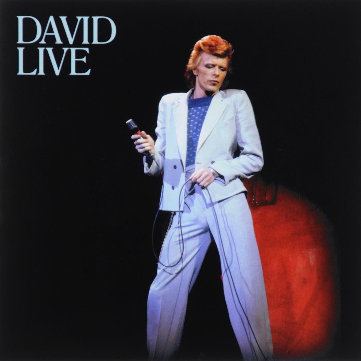 Дэвид Боуи David Bowie. David Live. 2005 Mix (2 CD) david bowie blackstar cd