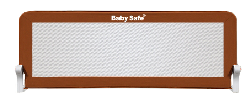 Baby Safe Барьер защитный для кроватки цвет коричневый 120 х 42 см