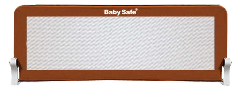 Baby Safe Барьер защитный для кроватки цвет коричневый 150 х 42 см