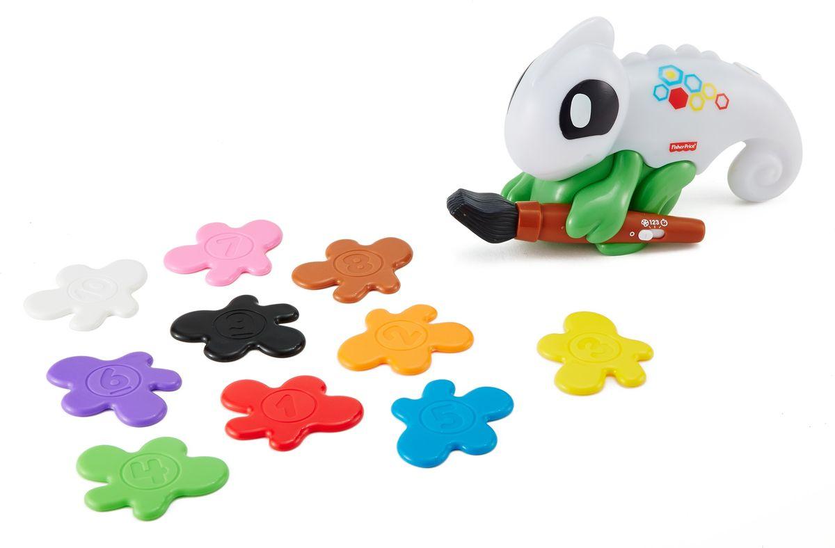 Fisher-Price Развивающая игрушка Обучающий хамелеон