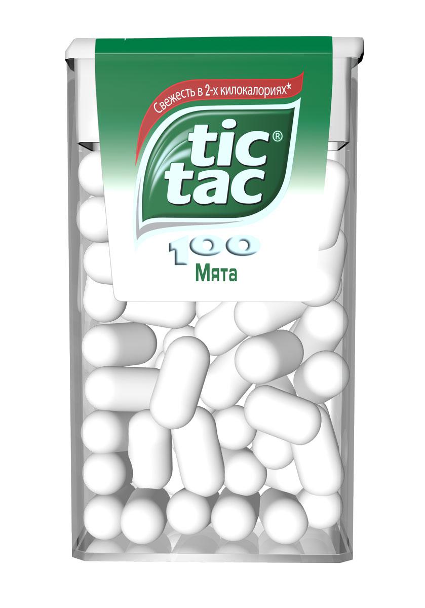 Tic Tac Мята драже, 49 г