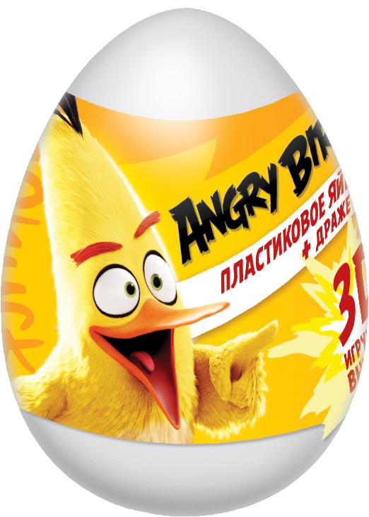 Angry Birds Movie фруктовое драже с игрушкой, 20 г конфитрейд лето водный пистолет драже с игрушкой 5 г