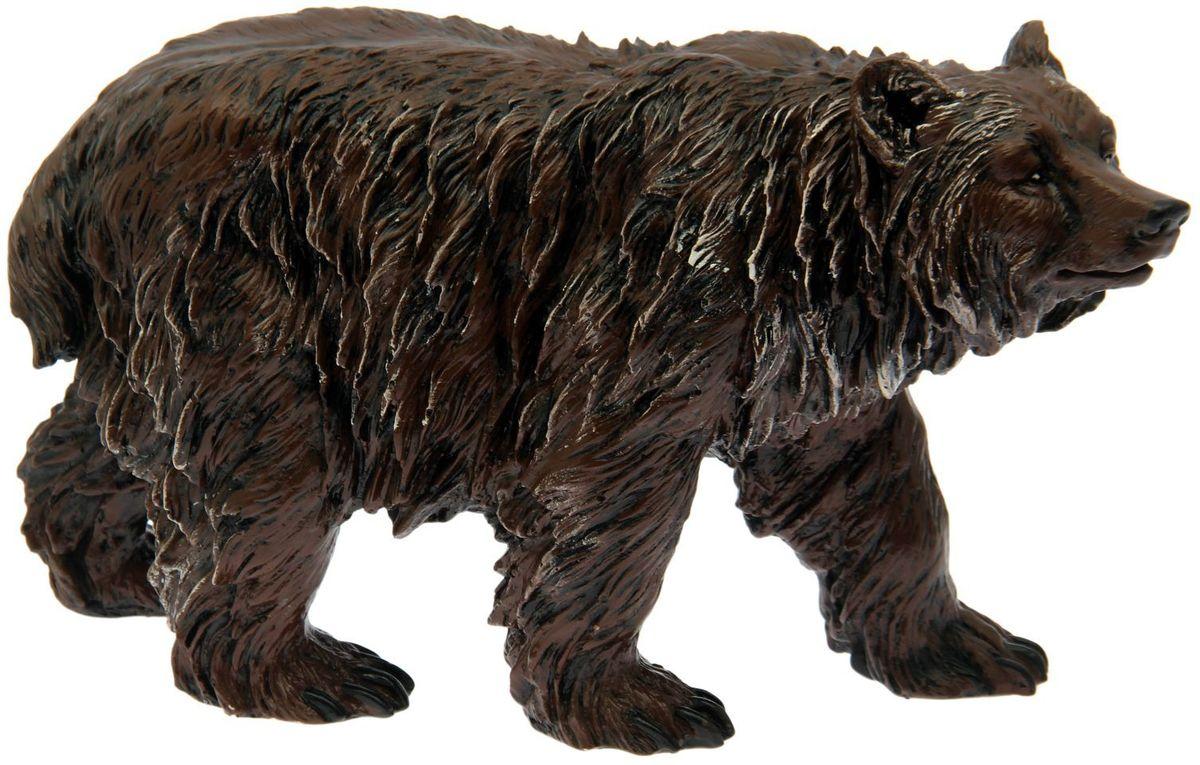 """Фигура садовая Premium Gips """"Медведь бурый"""", 57 х 19 х 35 см"""