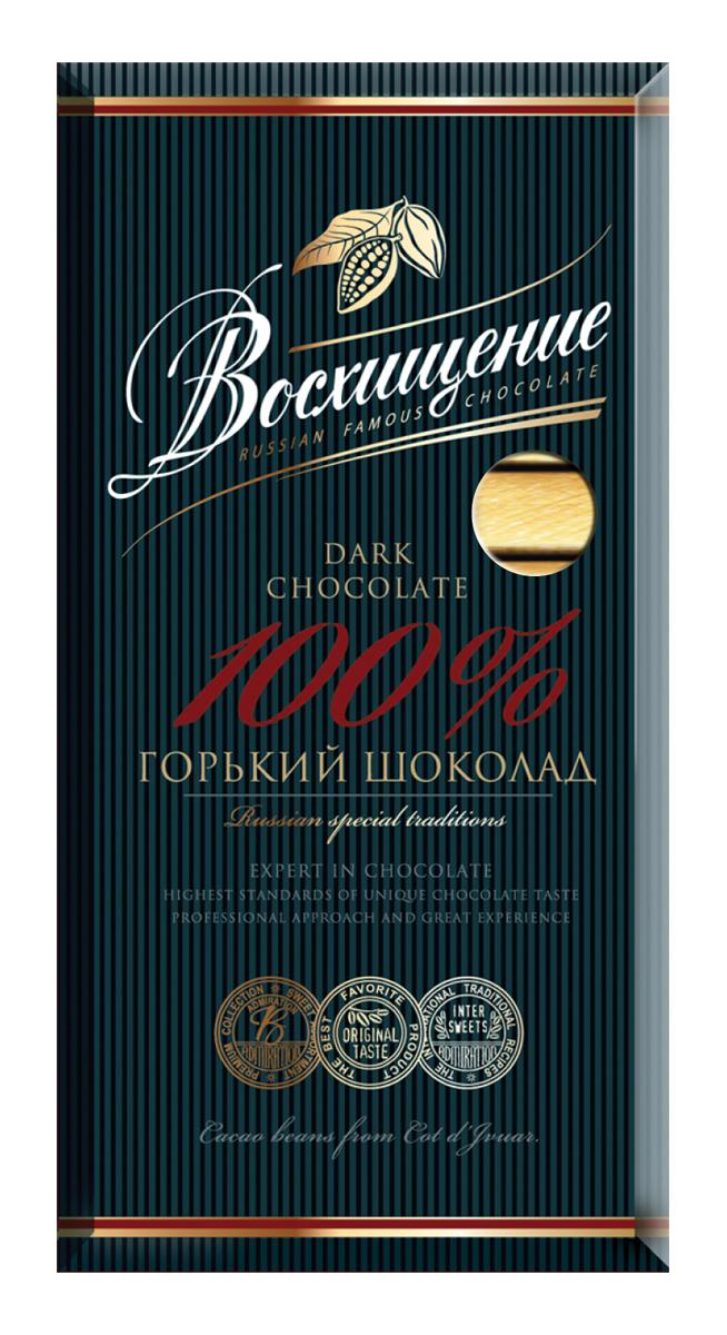 Волшебница Восхищение шоколад горький 100 % какао, 140 г