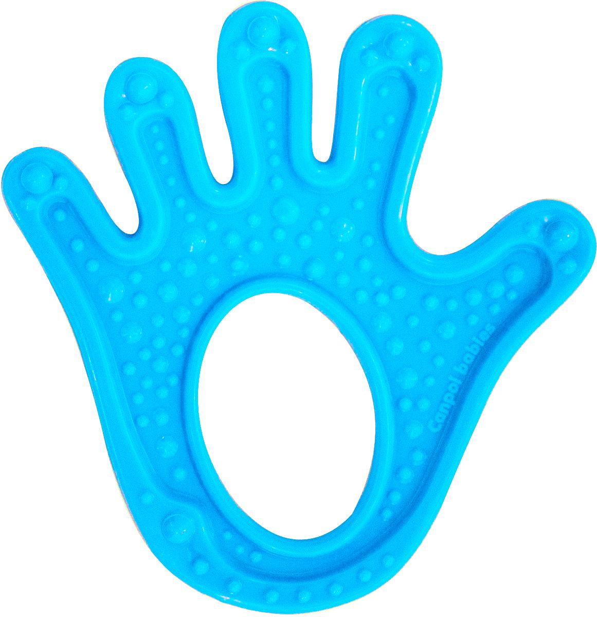 Canpol Babies Прорезыватель Ладошка цвет голубой недорого