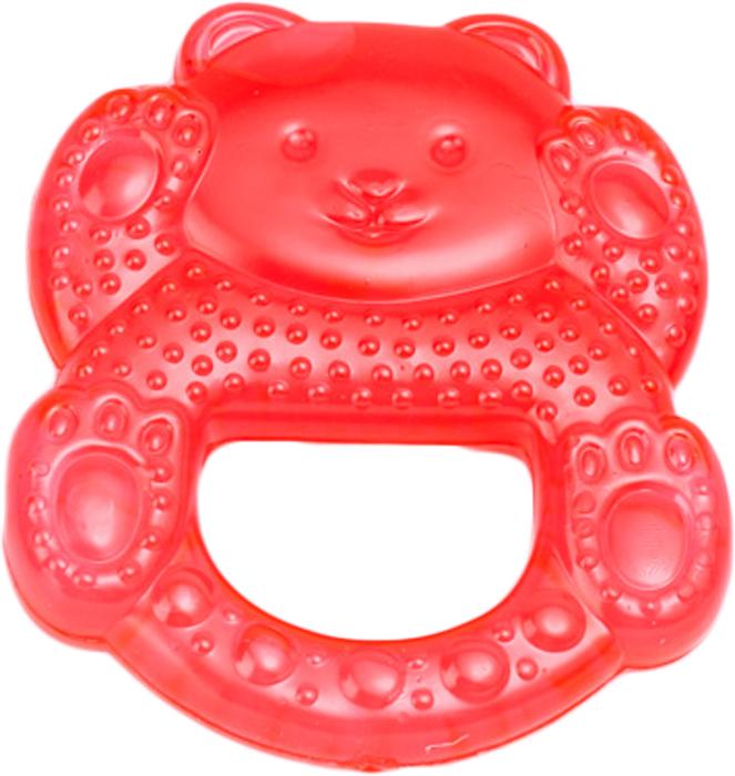 Canpol Babies Прорезыватель охлаждающий Медвежонок цвет красный