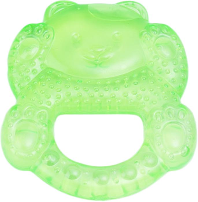 Canpol Babies Прорезыватель охлаждающий Медвежонок цвет зеленый прорезыватели canpol охлаждающий спящий медвежонок 2 242