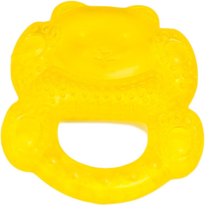 Canpol Babies Прорезыватель охлаждающий Медвежонок цвет желтый canpol babies прорезыватель уточка от 0 месяцев цвет желтый