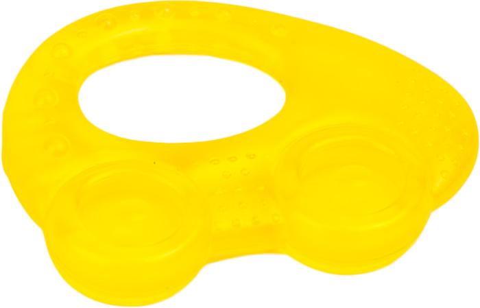 Canpol Babies Прорезыватель охлаждающий Автомобиль цвет желтый canpol babies прорезыватель уточка от 0 месяцев цвет желтый