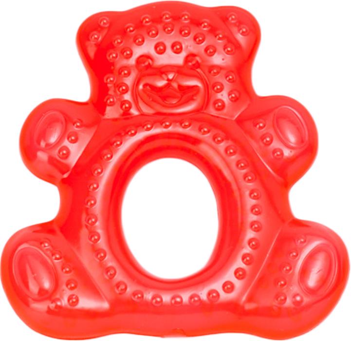 Canpol Babies Прорезыватель водный охлаждающий Мишка цвет красный canpol babies прорезыватель охлаждающий ягодка цвет красный