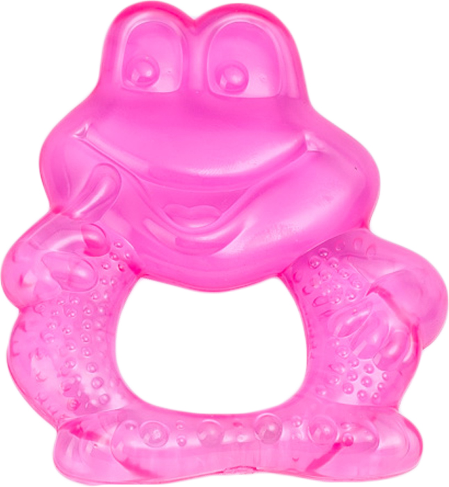 Canpol Babies Прорезыватель охлаждающий Лягушонок цвет розовый canpol babies прорезыватель охлаждающий ягодка цвет красный