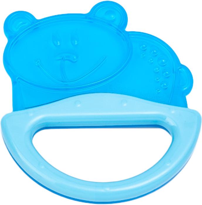 Фото - Canpol Babies Погремушка-прорезыватель Мишка цвет голубой погремушка с эластичным прорезывателем canpol арт 13 107 0 мес цвет голубой форма мишка