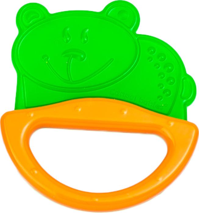 Фото - Canpol Babies Погремушка-прорезыватель Мишка цвет зеленый погремушка с эластичным прорезывателем canpol арт 13 107 0 мес цвет голубой форма мишка