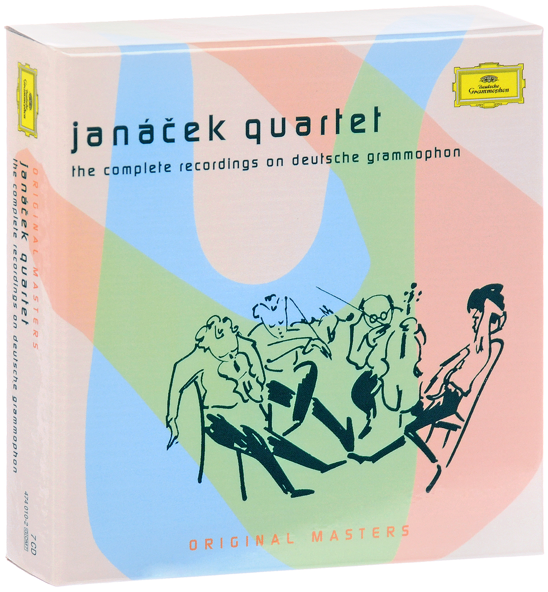 Janacek Quartett,Smetana Quartet,Ева Бернатова Janacek Quartet. The Complete Recordings (7 CD) magdalena kozena dvorak janacek martinu love songs