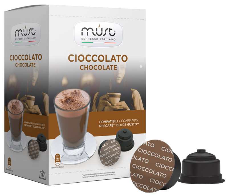 MUST DG Cioccolato какао капсульный, 16 шт skrulls must die