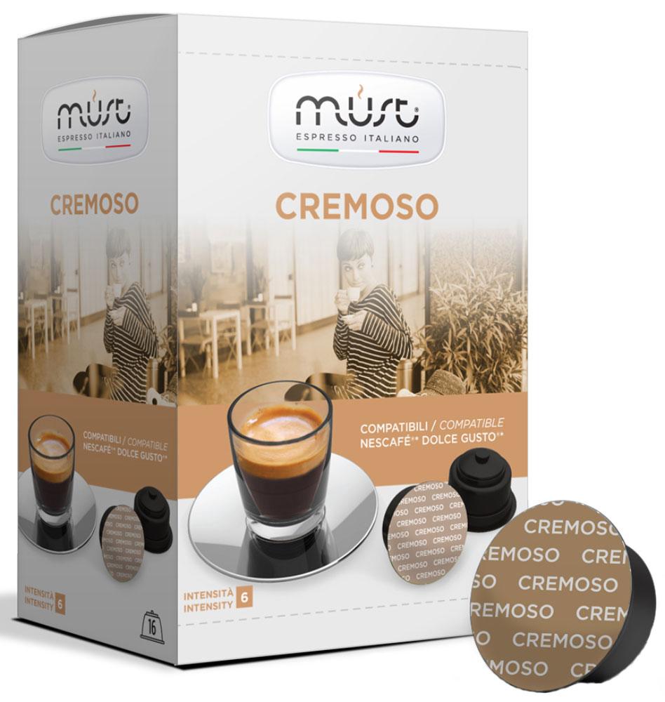 MUST DG Cremoso кофе капсульный, 16 шт капсулы must dg cremoso