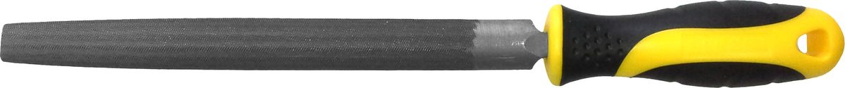 Напильник Berger, полукруглый, с рукояткой, 200 мм напильник трёхгранный с рукояткой berger 200 мм bg1152