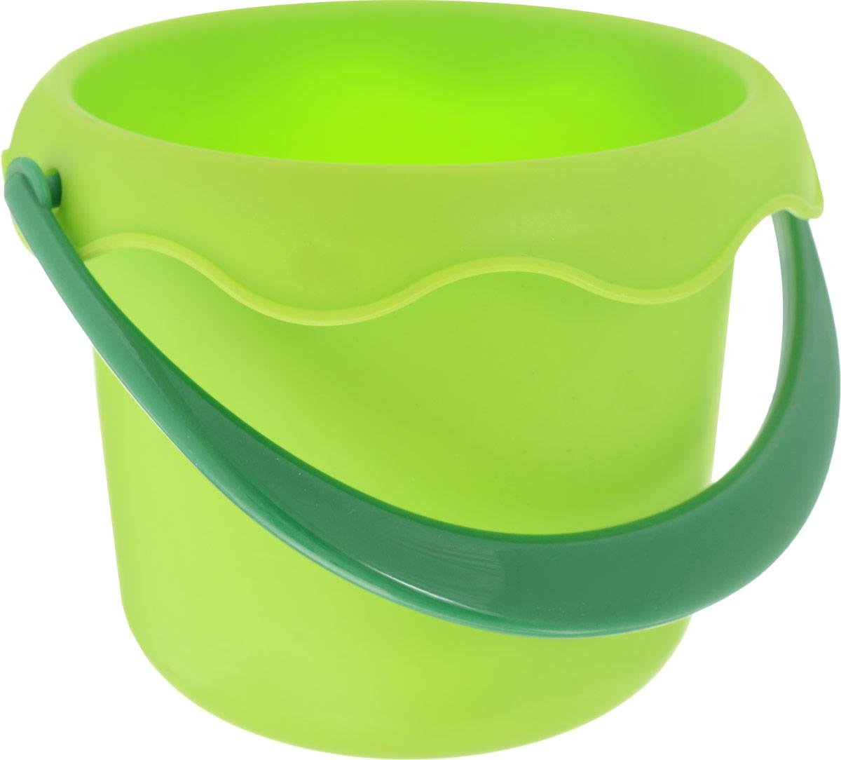 все цены на Baby Trend Игрушка для песочницы Ведро маленькое цвет салатовый онлайн