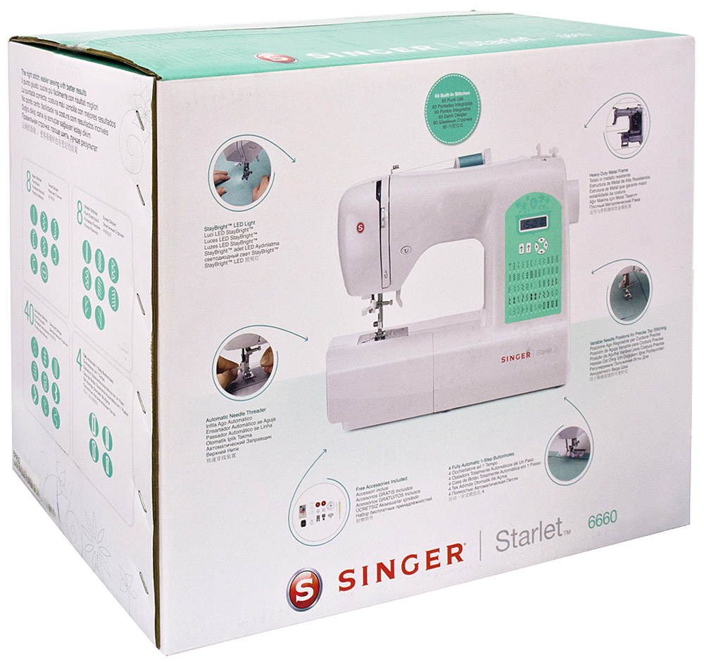 Швейная машина Singer Starlet 6660 Singer
