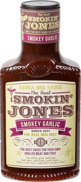 Remia Smokin Jones BBQ соус с чесноком, 450 мл барбекю bbq 44004b