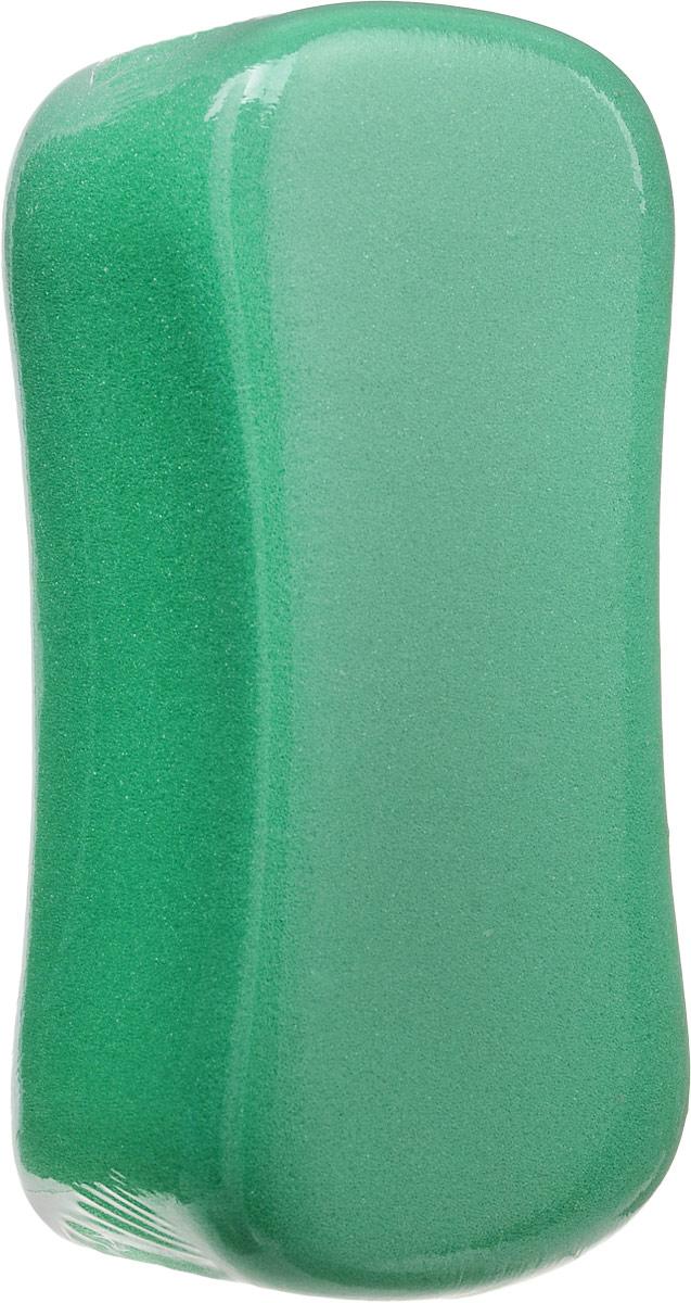 Губка для мытья автомобиля Sapfire Дельта, цвет: зеленый, 24 х 10,5 х 8 см губка aqualine для мытья автомобиля