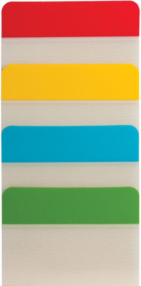Brauberg Закладка-выделитель листов 3,8 х 5,1 см 4 шт по 6 листов 126697